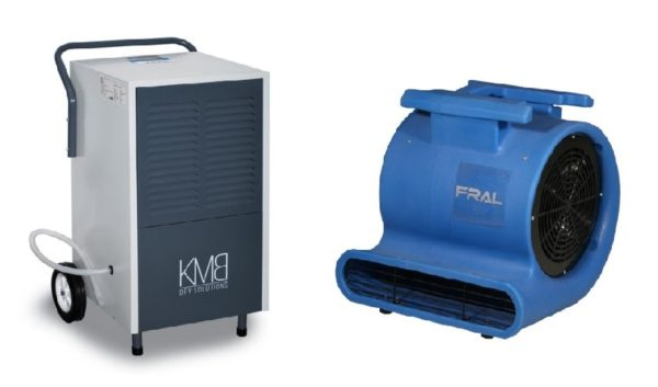 profesionalni odvlaživač vazduha + ventilator - rentiranje